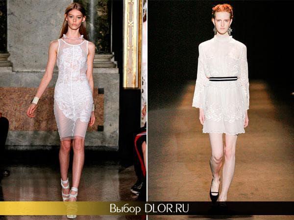 Короткие платья прямого кроя и платье-футляр