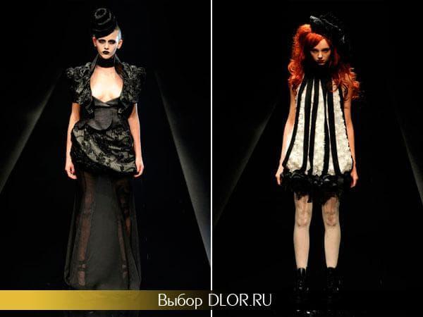 Черные оригинальные платья от Alice Auaa
