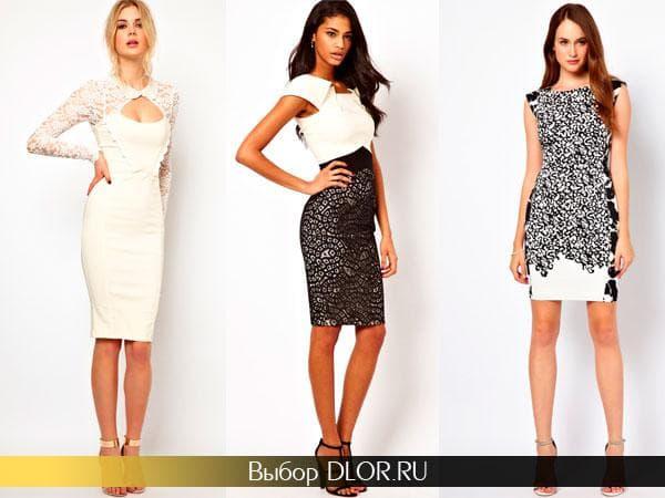 Оригинальные модели платьев для новогодней вечеринки