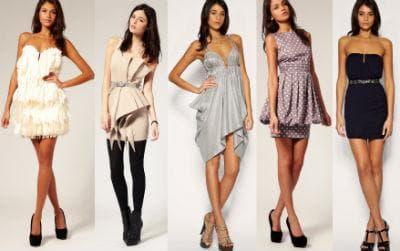 Актуальные расцветки платьев