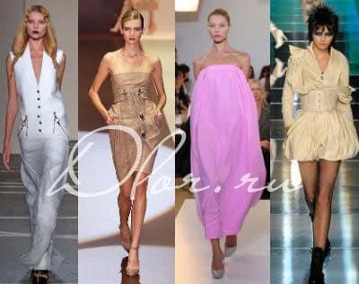 Широкая цветовая гамма летних платьев