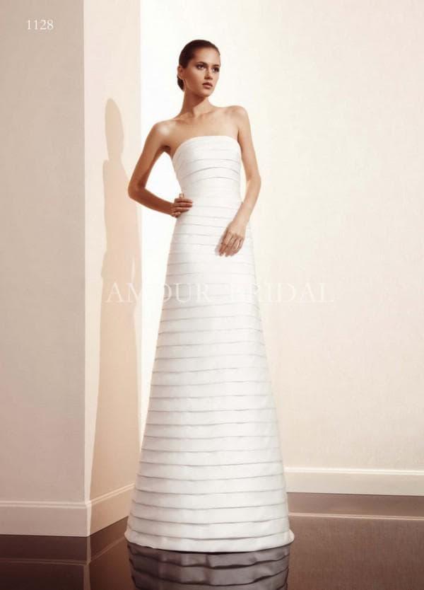Длинное платье трансформер для невесты