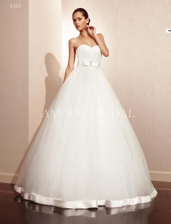 Платье невесты фасон принцесса