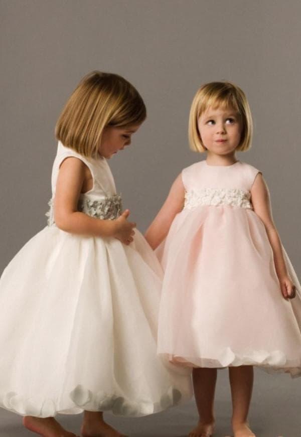 Нежные платья на свадьбу для девочек