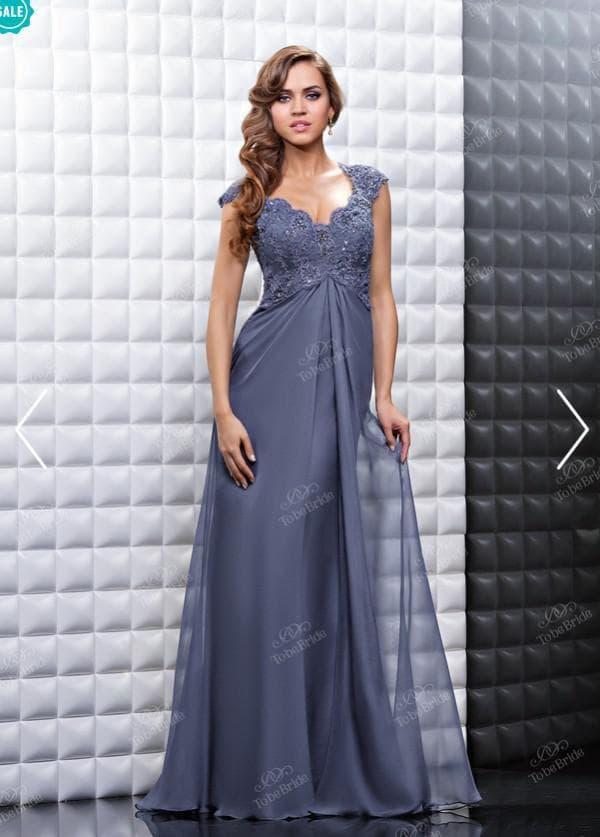 Летящее вечернее платье в пол