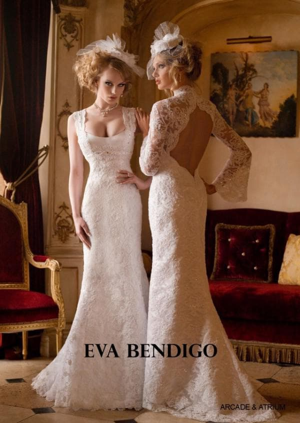 Свадебное винтажное платье и шляпка