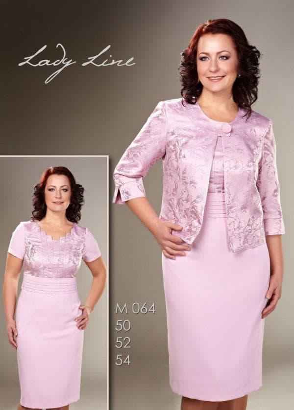 Розовое платье для свекрови на свадьбу