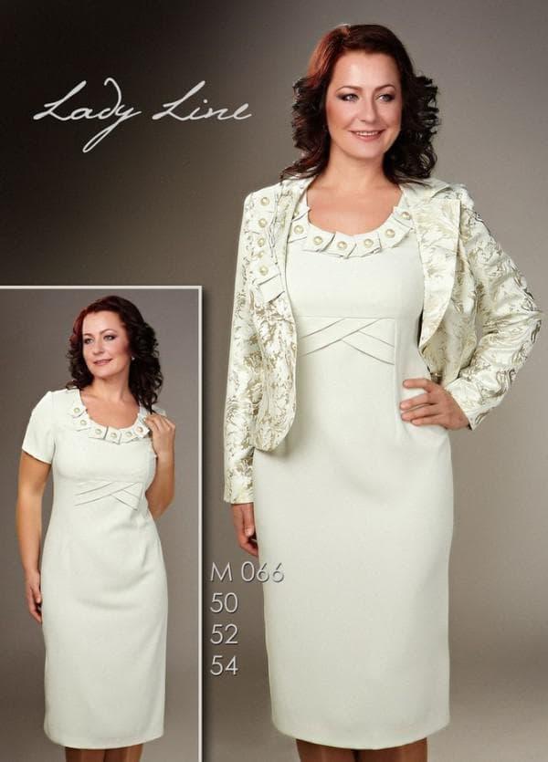 Платье длины миди на свадьбу сына