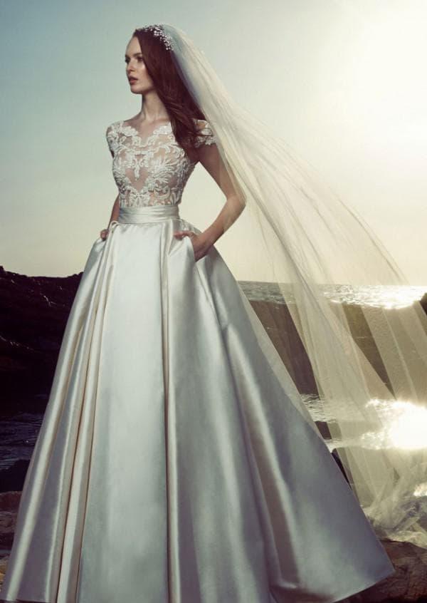 Свадебное платье трансформер от модного дизайнера