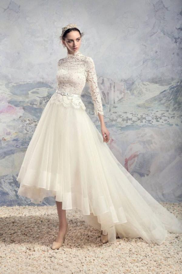 Свадебное платье маллет Папилио