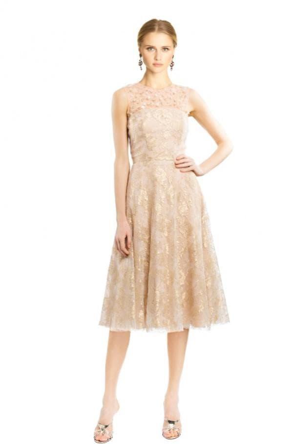 Коктейльное вечернее платье с юбкой клёш