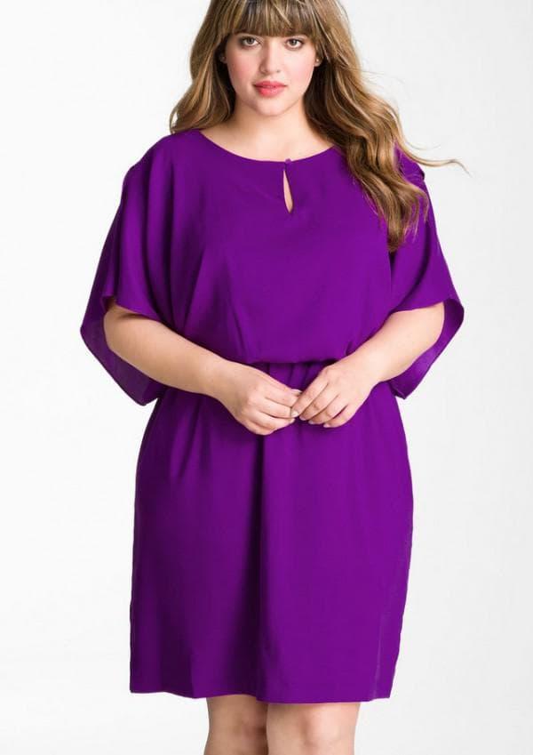 Платье миди длины для женщин с животиком