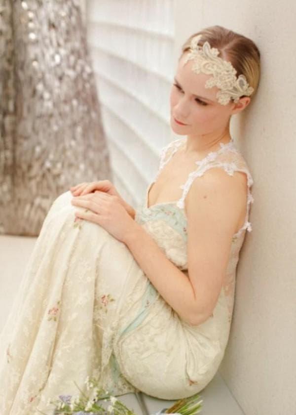 Платье невесты в стиле бохо шик