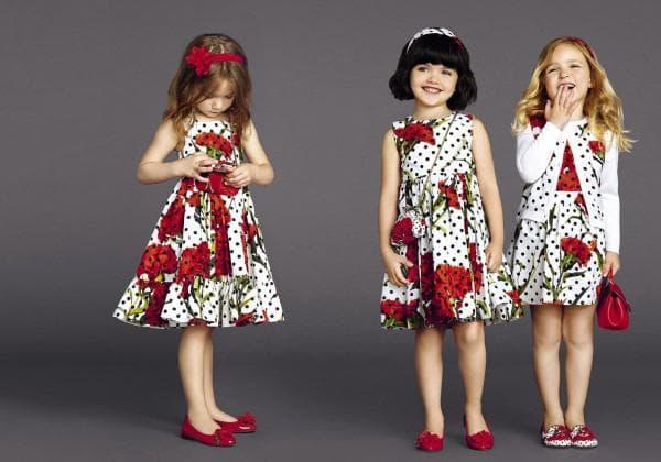Платье для девочек Дольче Габбана