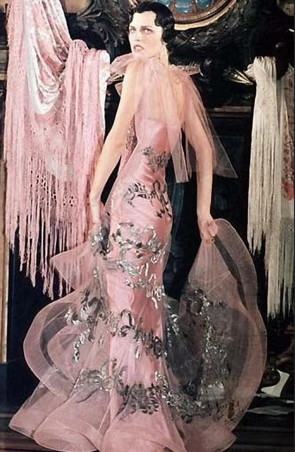 Вечернее платье Джон Гальяно 1961