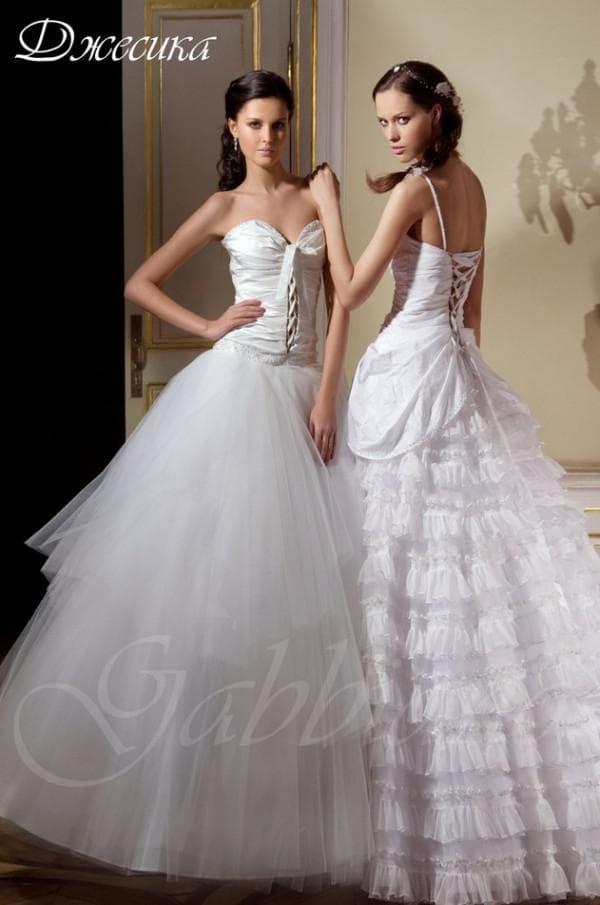 Свадебное платье принцесса Габбиано