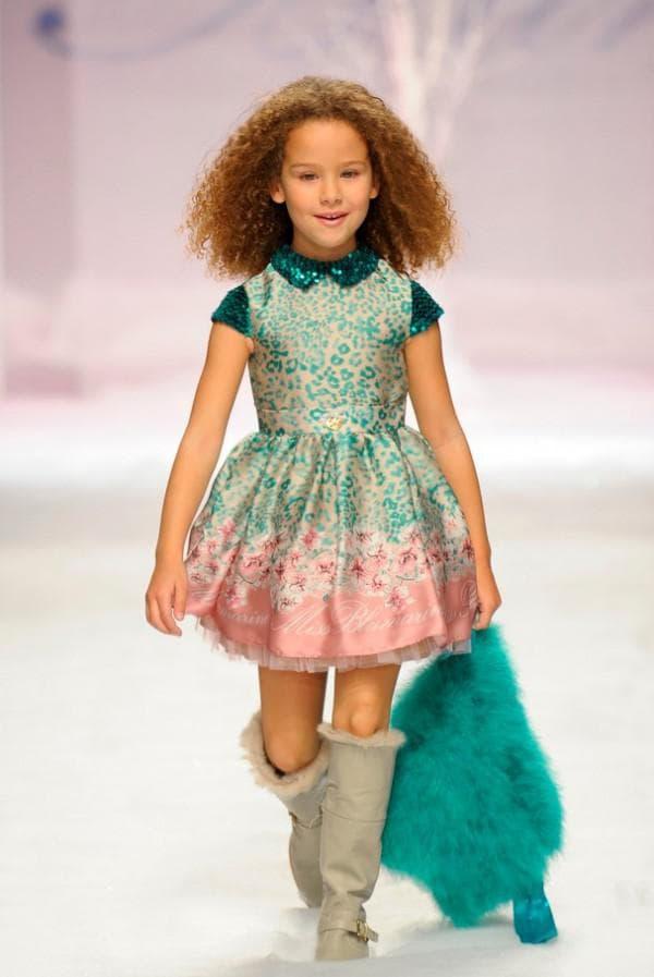 Детские платья от Miss Blumarine