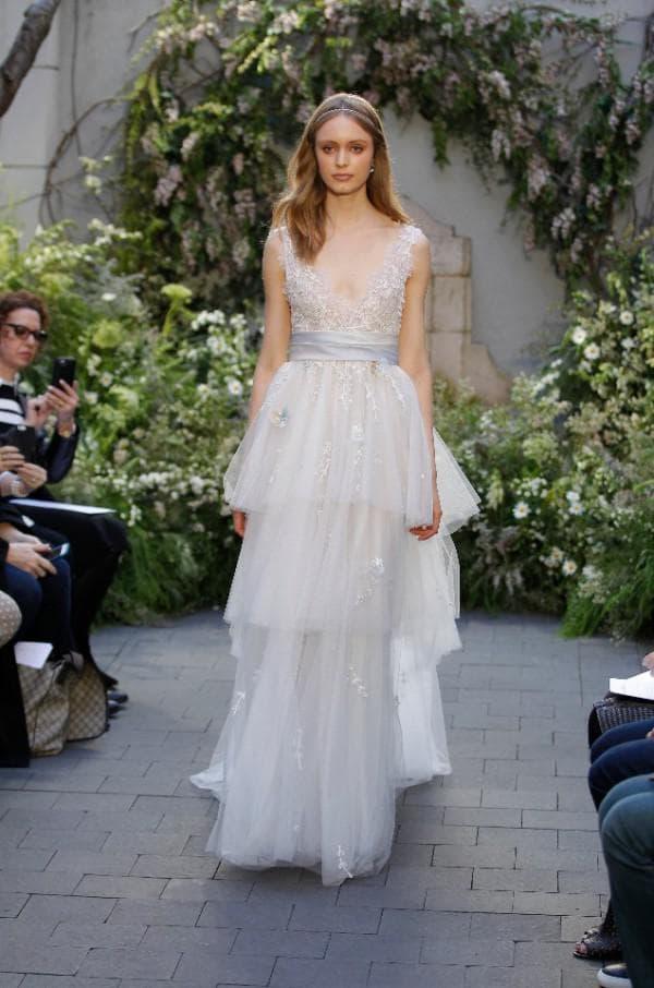 Дизайнерское свадебное платье в стиле бохо