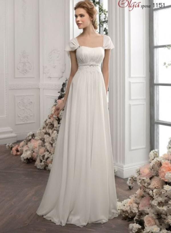 Элегантное свадебное платье от российского дизайнера