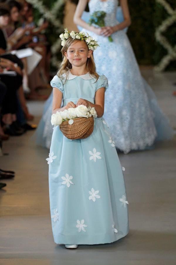 Детские платья от Oscar de la Renta
