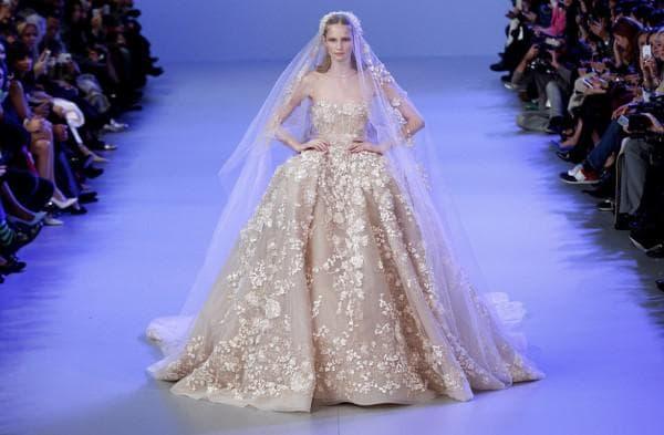 Пышное свадебное платье от-кутюр