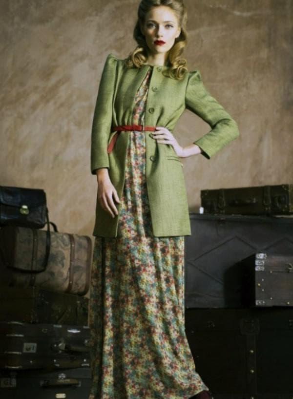 Платье в стиле прованс для женщин от 50 лет