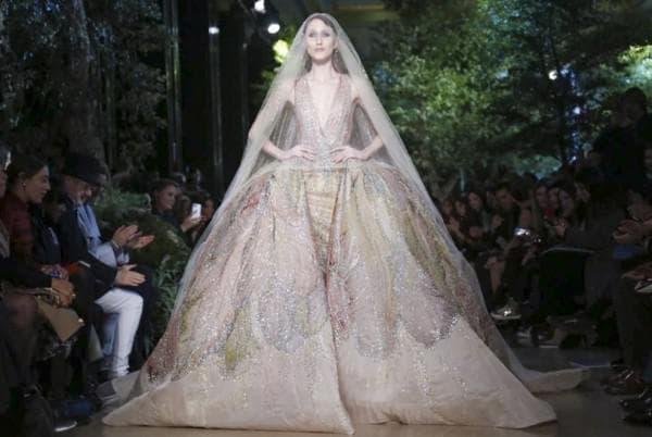 Дорогое свадебное платье принцесса