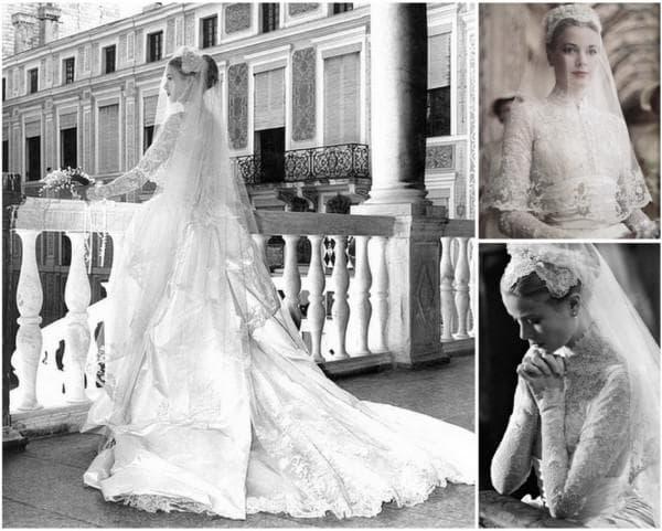 Свадебное платье принцессы Монако Грейс Келли