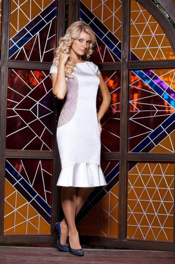 Платье из Беларуси французской длины