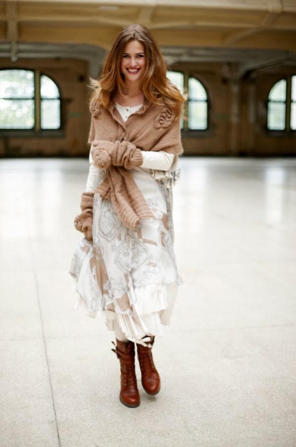 Платье встиле првоанс на осень