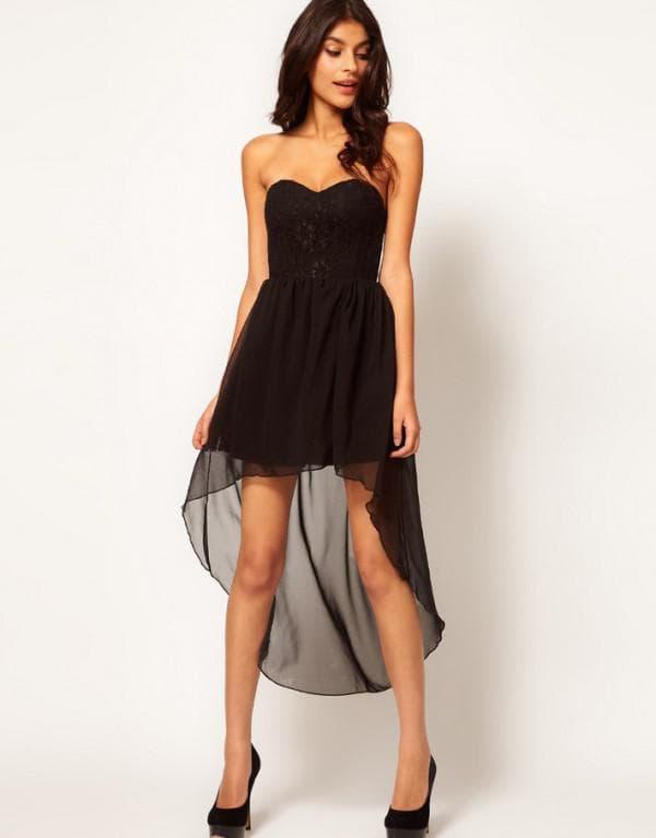 Удлиняем платье шлейфом