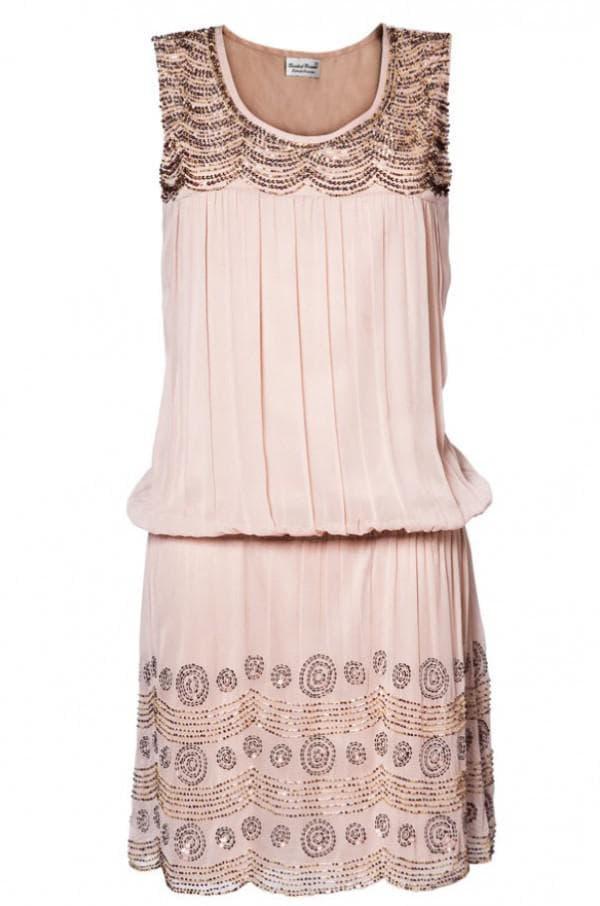 Коктейльное платье в стиле Великий Гэтсби