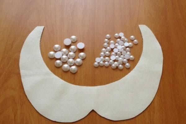 Материал для создания нарядного воротничка