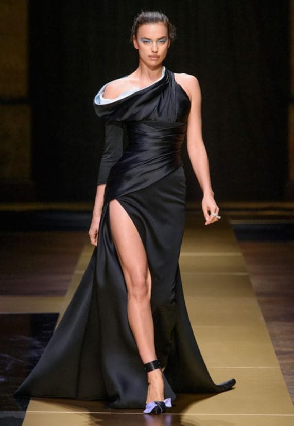 Роскошное вечернее облегающее платье