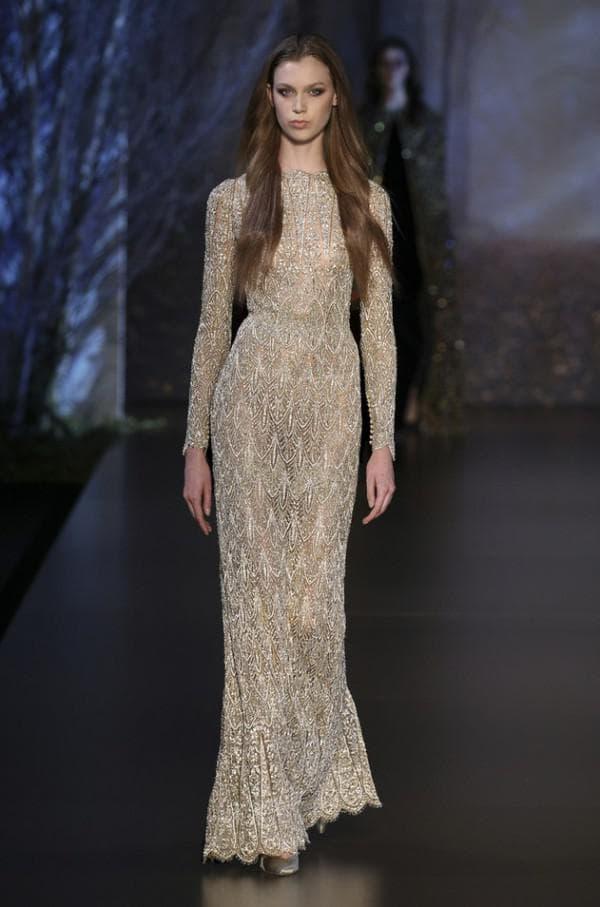 Вечернее обтягивающее платье Ralph Rusco