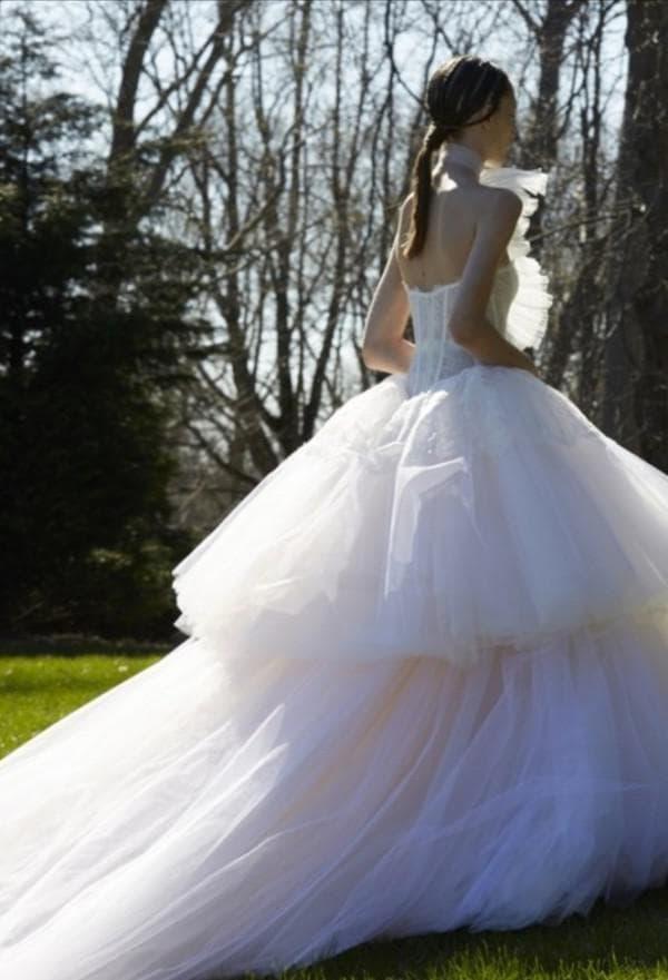Новое свадебное платье Вера Вонг