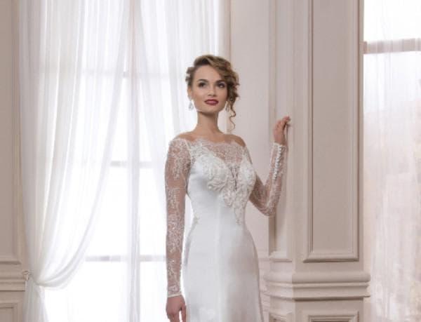 Прямое платье для венчания