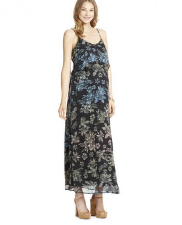Сарафан в цветок для беременных