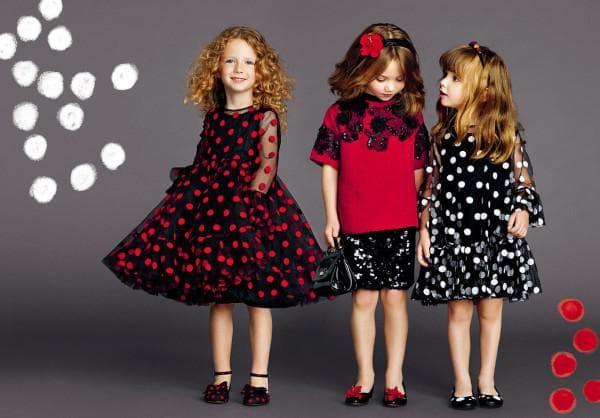 Стильные платья на новый год детские