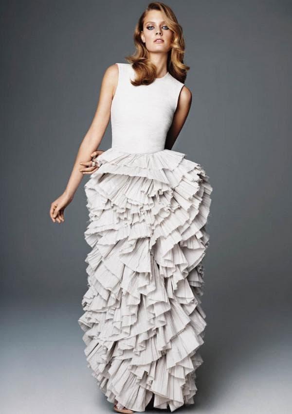 Длинное платье большого размера на новый год