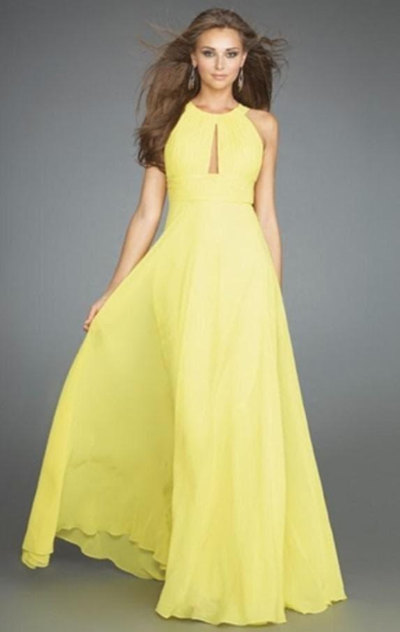 Летнее нарядное платье в пол из шифона