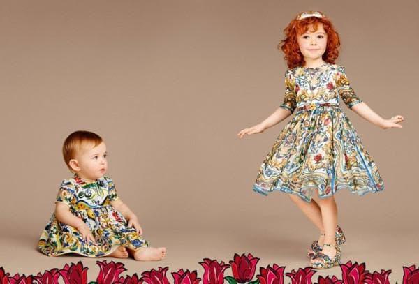 Детские дизайнерские платья