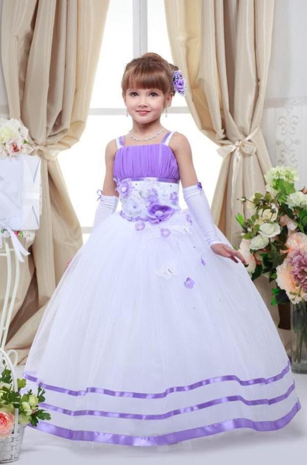 Платье принцесса для выпускного в детском саду
