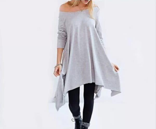 Платье-туника в стиле casual