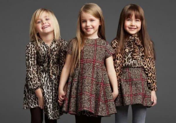 Осенне-зимняя коллекция для девочек