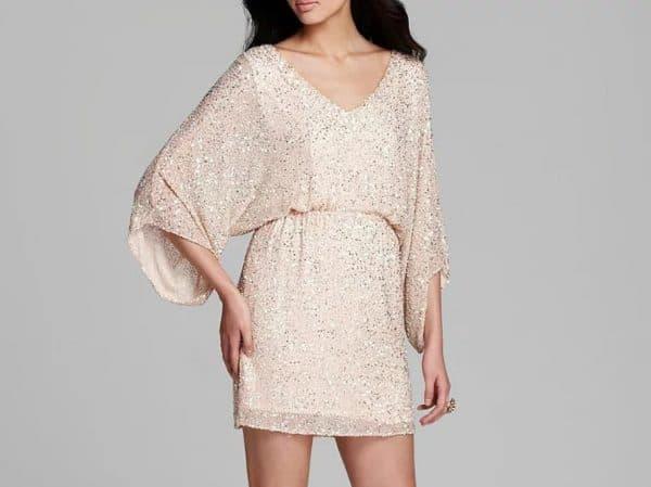 Праздничное платье-туника