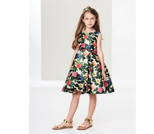 Праздничное платье Oscar de la Renta для девочек
