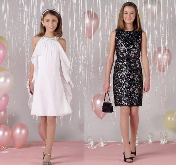 Праздничные платья для девочек подростков