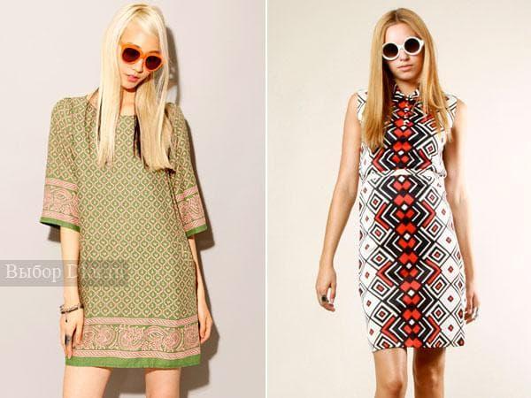 Короткие платья в стиле Твигги