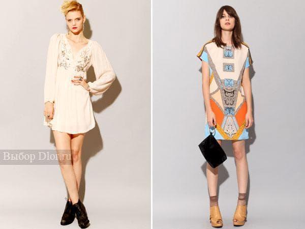 Летние ретро-платья 2012